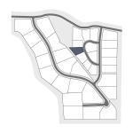 Caribou Ridge Mini Key Map 13JC