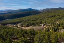 Caribou Ridge 4 Ridge View Road Aerial View