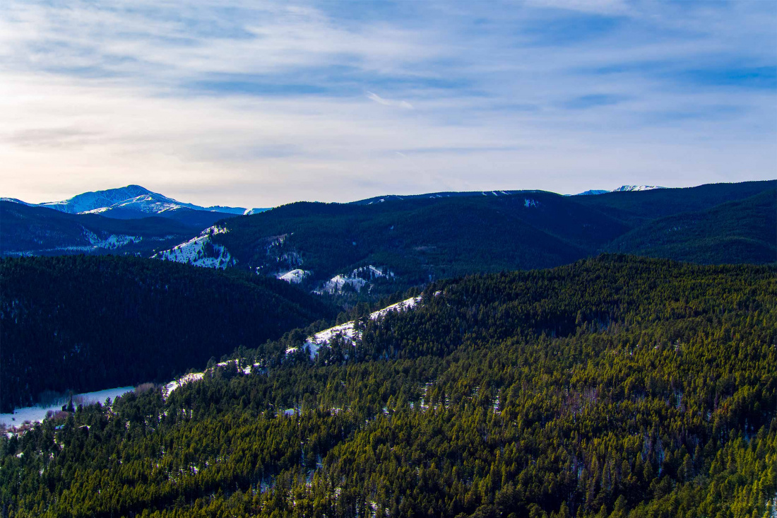 Caribou Ridge 20 Ridge View Aerial View Southwest 2