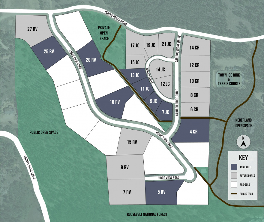Caribou Ridge Community Map Mobile
