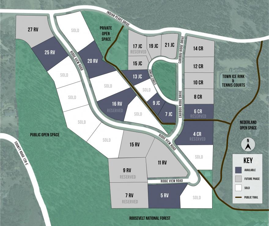 Caribou Ridge Community Map